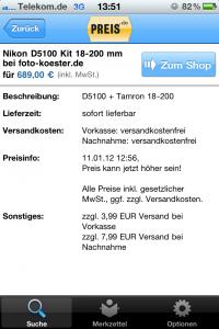 Preis.de App